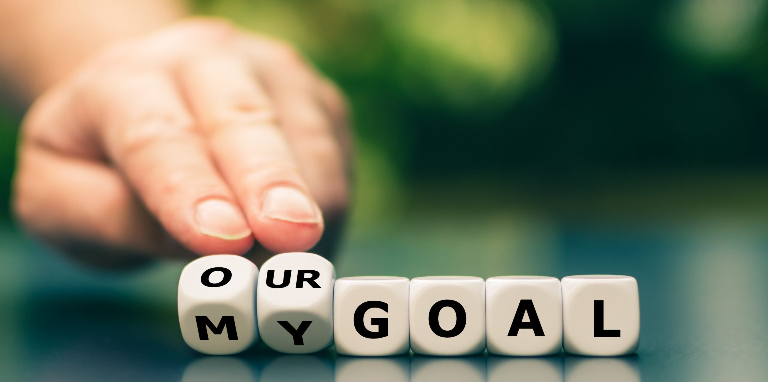 "GOALSETTING: CONNECTING ""MY"" GOALS TO ""OUR"" GOALS FOR HIGHER ENGAGEMENT AND PERFORMANCE"